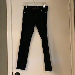 Super dark skinny jeans